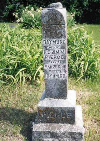 PIERCE, RAYMOND - Webster County, Iowa   RAYMOND PIERCE