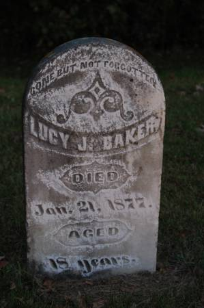 BAKER, LUCY J. - Webster County, Iowa   LUCY J. BAKER
