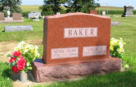 BAKER, VIRGIL E. - Webster County, Iowa | VIRGIL E. BAKER