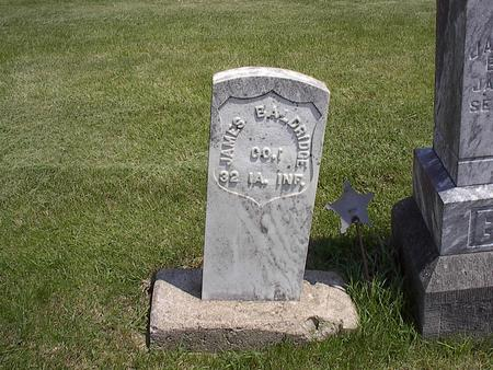 BALDRIDGE, JAMES - Webster County, Iowa | JAMES BALDRIDGE