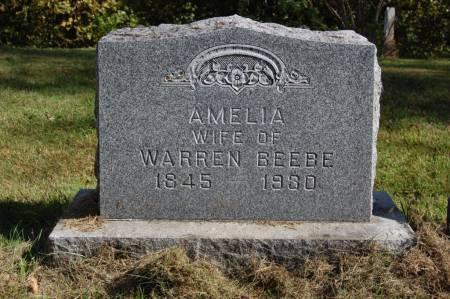 BEEBE, AMELIA - Webster County, Iowa   AMELIA BEEBE