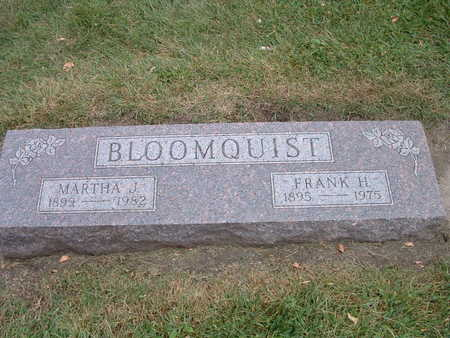 BLOOMQUIST, FRANK-MARTHA - Webster County, Iowa   FRANK-MARTHA BLOOMQUIST