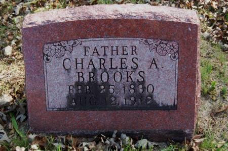 BROOKS, CHARLES A. - Webster County, Iowa   CHARLES A. BROOKS