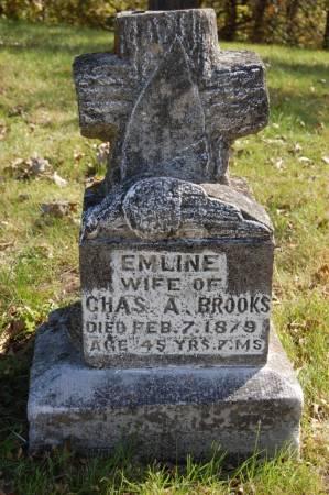 BROOKS, EMLINE - Webster County, Iowa   EMLINE BROOKS