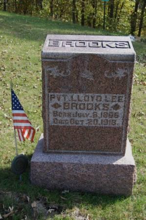 BROOKS, PVT.LLOYD LEE - Webster County, Iowa | PVT.LLOYD LEE BROOKS