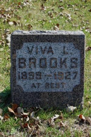 BROOKS, VIVA L. - Webster County, Iowa   VIVA L. BROOKS