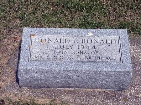 BRUNDAGE, DONALD - Webster County, Iowa | DONALD BRUNDAGE