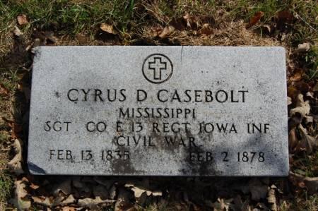 CASEBOLT, CYRUS D. - Webster County, Iowa | CYRUS D. CASEBOLT