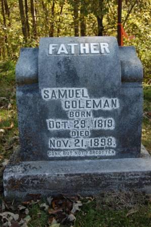 COLEMAN, SAMUEL - Webster County, Iowa | SAMUEL COLEMAN