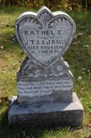 DAVIS, EATHEL E. - Webster County, Iowa | EATHEL E. DAVIS