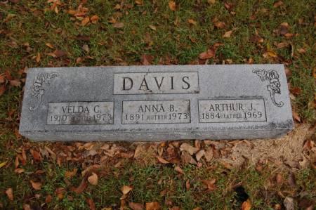 DAVIS, ARTHUR J. - Webster County, Iowa   ARTHUR J. DAVIS