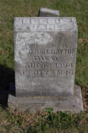 DAYTON, BESSIE JANE - Webster County, Iowa | BESSIE JANE DAYTON