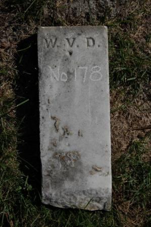 DAYTON(?), W.V. - Webster County, Iowa   W.V. DAYTON(?)