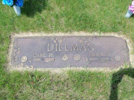 DILLMAN, ERMA (SANDELL) - Webster County, Iowa | ERMA (SANDELL) DILLMAN