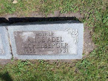PETTIBONE ECHELBERGER, ALICE ADEL - Webster County, Iowa | ALICE ADEL PETTIBONE ECHELBERGER