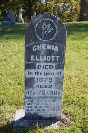 ELLIOTT, CHENIA - Webster County, Iowa   CHENIA ELLIOTT