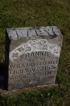 ELLIOTT, FRANKIE - Webster County, Iowa   FRANKIE ELLIOTT