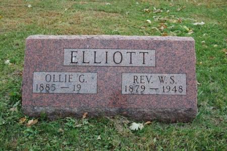 ELLIOTT, OLLIE G. - Webster County, Iowa | OLLIE G. ELLIOTT