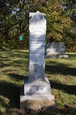 ESLICK, MARGARET - Webster County, Iowa | MARGARET ESLICK