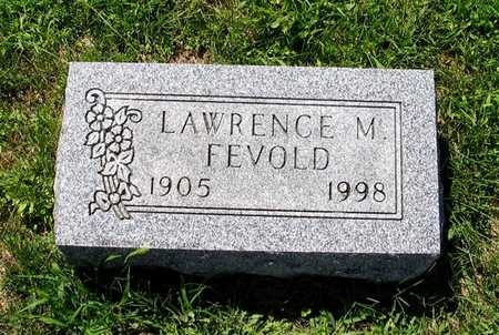 FEVOLD, LAWRENCE M. - Webster County, Iowa | LAWRENCE M. FEVOLD