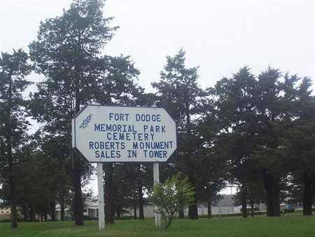 FORT DODGE MEMORIAL PARK, CEMETERY - Webster County, Iowa | CEMETERY FORT DODGE MEMORIAL PARK