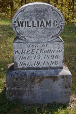 GUTHRIE, WILLIAM C. - Webster County, Iowa | WILLIAM C. GUTHRIE