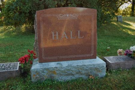 HALL, FAMILY MONUMENT - Webster County, Iowa | FAMILY MONUMENT HALL