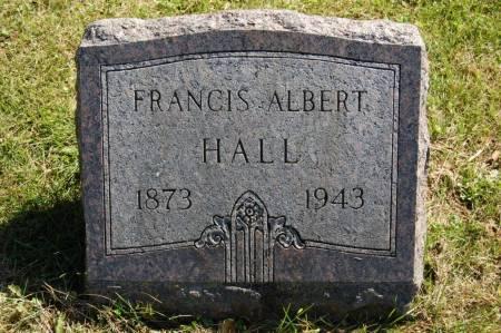 HALL, FRANCIS ALBERT - Webster County, Iowa   FRANCIS ALBERT HALL
