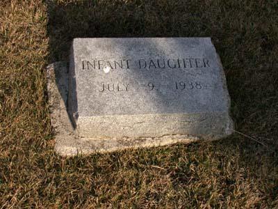 HANSEN, INFANT DAUGHTER - Webster County, Iowa | INFANT DAUGHTER HANSEN
