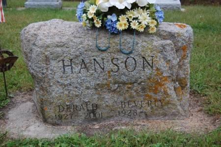 HANSON, DERALD - Webster County, Iowa   DERALD HANSON