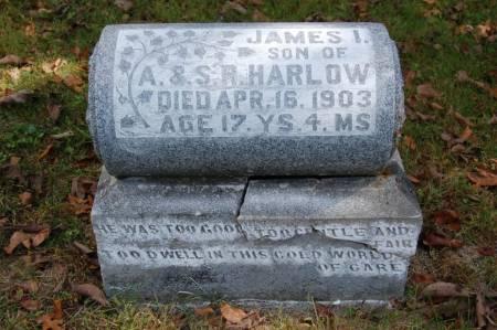 HARLOW, JAMES I. - Webster County, Iowa | JAMES I. HARLOW