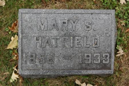 HATFIELD, MARY S. - Webster County, Iowa | MARY S. HATFIELD