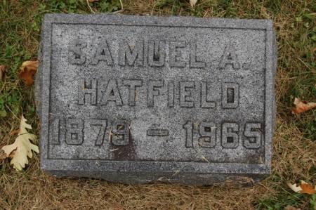 HATFIELD, SAMUEL A. - Webster County, Iowa   SAMUEL A. HATFIELD