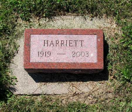 VOSS HAUGEN, HARRIETT ETHEL - Webster County, Iowa | HARRIETT ETHEL VOSS HAUGEN