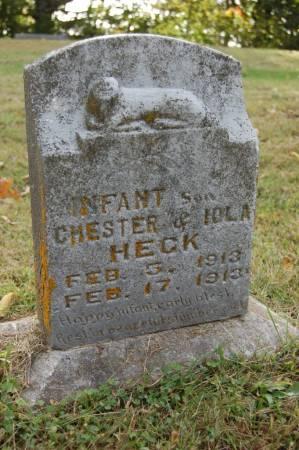 HECK, INFANT BOY - Webster County, Iowa | INFANT BOY HECK