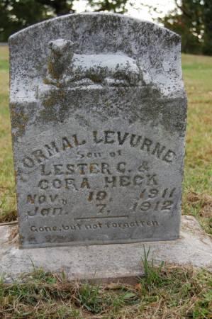 HECK, ORMAL LEVURNE - Webster County, Iowa | ORMAL LEVURNE HECK