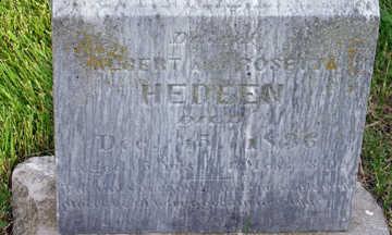 CLAFLIN HEDEEN, DAUGHTER - Webster County, Iowa | DAUGHTER CLAFLIN HEDEEN
