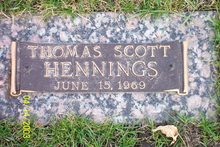 HENNINGS, THOMAS SCOTT - Webster County, Iowa | THOMAS SCOTT HENNINGS