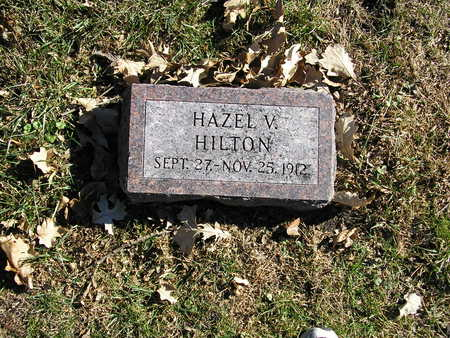 HILTON, HAZEL - Webster County, Iowa   HAZEL HILTON