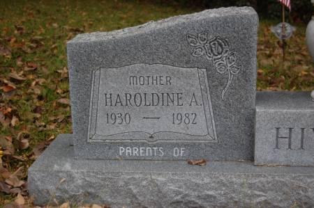 HIVELEY, HAROLDINE A. - Webster County, Iowa   HAROLDINE A. HIVELEY