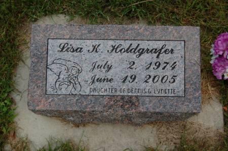 HOLDGRAFER, LISA K. - Webster County, Iowa   LISA K. HOLDGRAFER