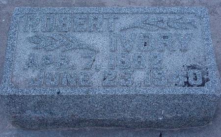 IVORY, ROBERT - Webster County, Iowa   ROBERT IVORY