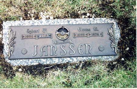 JANSSEN, ELSENA M. - Webster County, Iowa | ELSENA M. JANSSEN