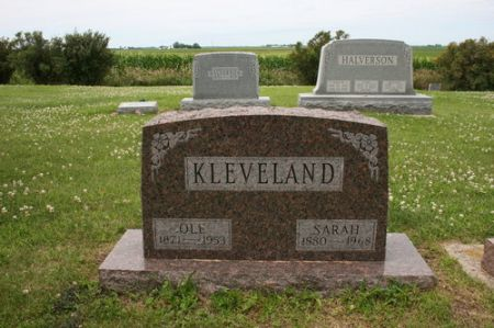 KLEVELAND, SARAH - Webster County, Iowa | SARAH KLEVELAND