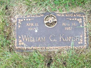 KOPISH, WILLIAM C. - Webster County, Iowa   WILLIAM C. KOPISH