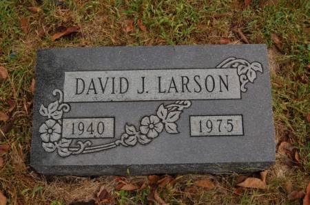 LARSON, DAVID J. - Webster County, Iowa | DAVID J. LARSON