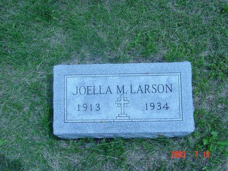 LARSON, JOELLA - Webster County, Iowa   JOELLA LARSON
