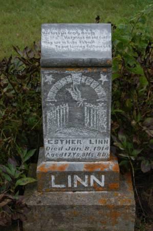 LINN, ESTHER - Webster County, Iowa | ESTHER LINN