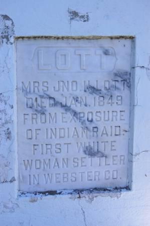 LOTT, MRS. JNO H. - Webster County, Iowa | MRS. JNO H. LOTT