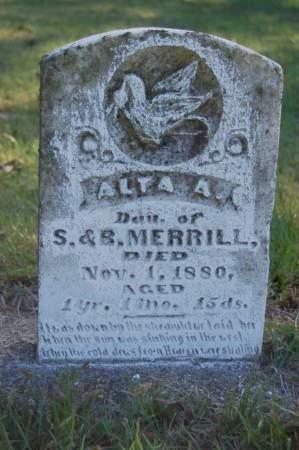 MERRILL, ALTA A. - Webster County, Iowa | ALTA A. MERRILL